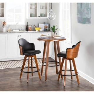 Link to Carson Carrington Valsatra Mid-Century Counter Stool Similar Items in Dining Room & Bar Furniture
