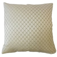 Quirijn Solid Throw Pillow Ivory