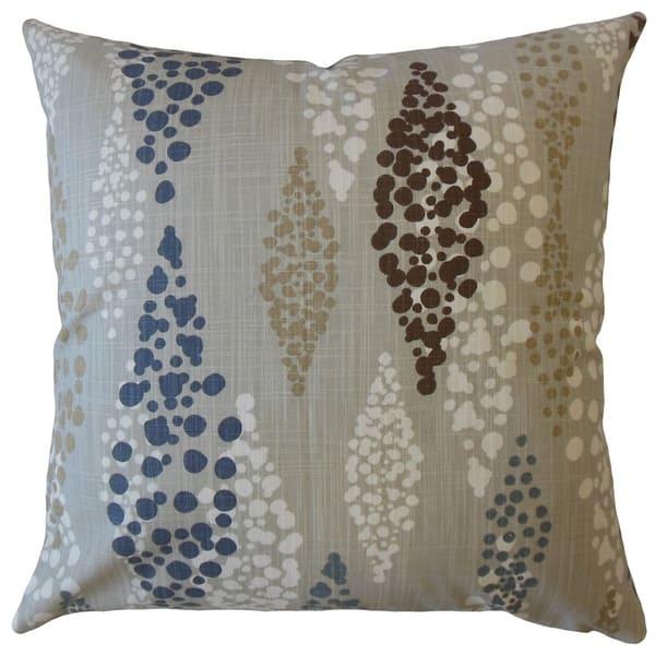 Fathi Polka Dot Throw Pillow Riverway Overstock 22718807