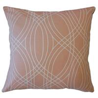 Galya Geometric Throw Pillow Cameo