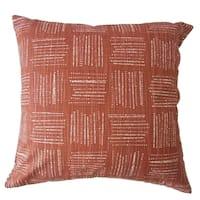 Maceo Geometric Throw Pillow Sierra