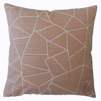 Uheri Geometric Throw Pillow Blush