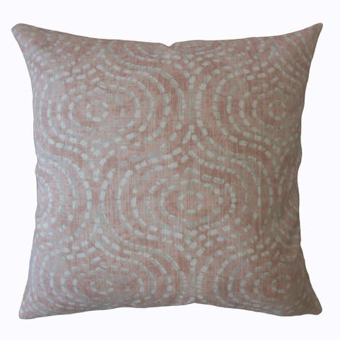 Varian Geometric Throw Pillow Blush
