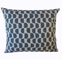 Xhosa Geometric Throw Pillow Dark Gray