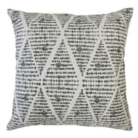 Cahdla Geometric Throw Pillow Ink