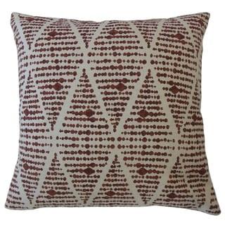 Cahdla Geometric Throw Pillow Sierra