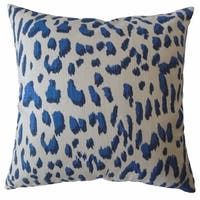 Kainda Ikat Throw Pillow Royal