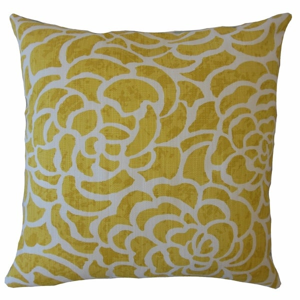 Usra Floral Throw Pillow Sunglow. Opens flyout.