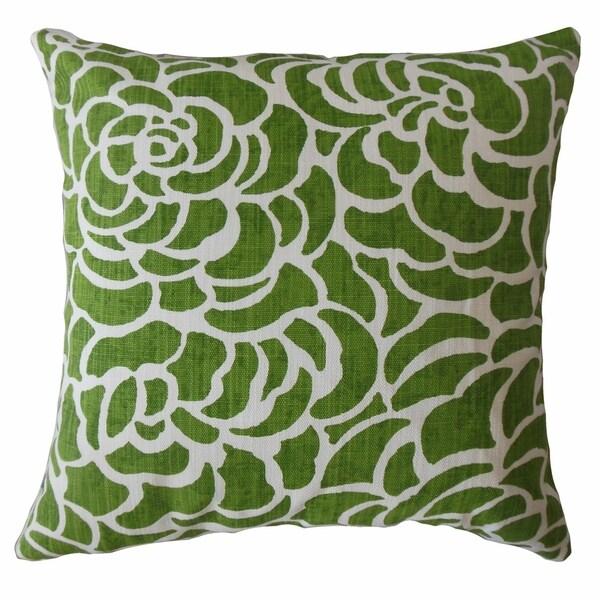 Usra Floral Throw Pillow Bonsai