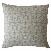 Whistler Ikat Throw Pillow Reflection