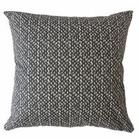 Xakery Polka Dot Throw Pillow Ink