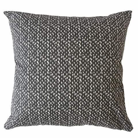 Xakery Polka Dot Throw Pillow Ink
