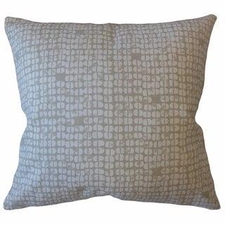 Aceline Geometric Throw Pillow Porcelain