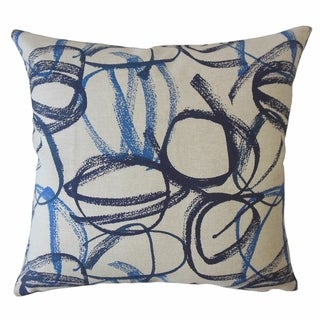 Celandine Graphic Throw Pillow Vivid