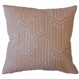 Daube Geometric Throw Pillow Cameo