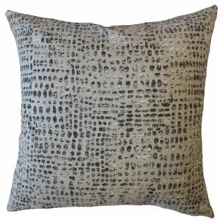 Ilyas Polka Dot Throw Pillow Sable