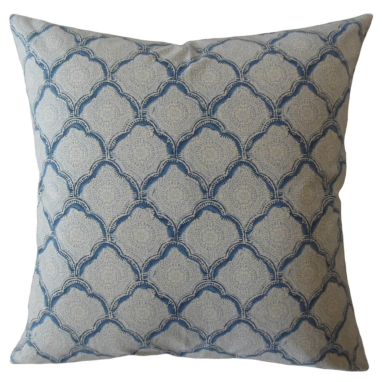 Rahima Damask Throw Pillow Sky On Sale Overstock 22718922