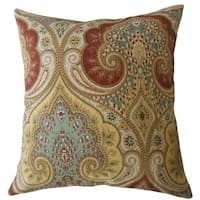 Saeran Damask Throw Pillow Multi