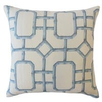 Bairn Geometric Throw Pillow Blue