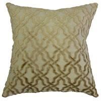 Ieuan Geometric Throw Pillow Cream