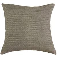 Kaiya Solid Throw Pillow Ash