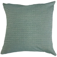 Kaiya Solid Throw Pillow Teal