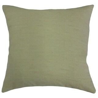 Kaiya Solid Throw Pillow Sage