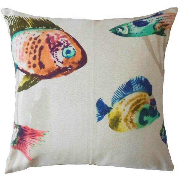 Oceania Nautical Throw Pillow Caribbean