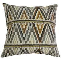 Washakie Geometric Throw Pillow Gray