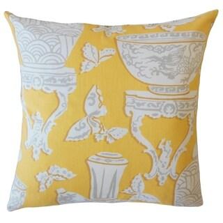 Eko Graphic Throw Pillow Sunflower