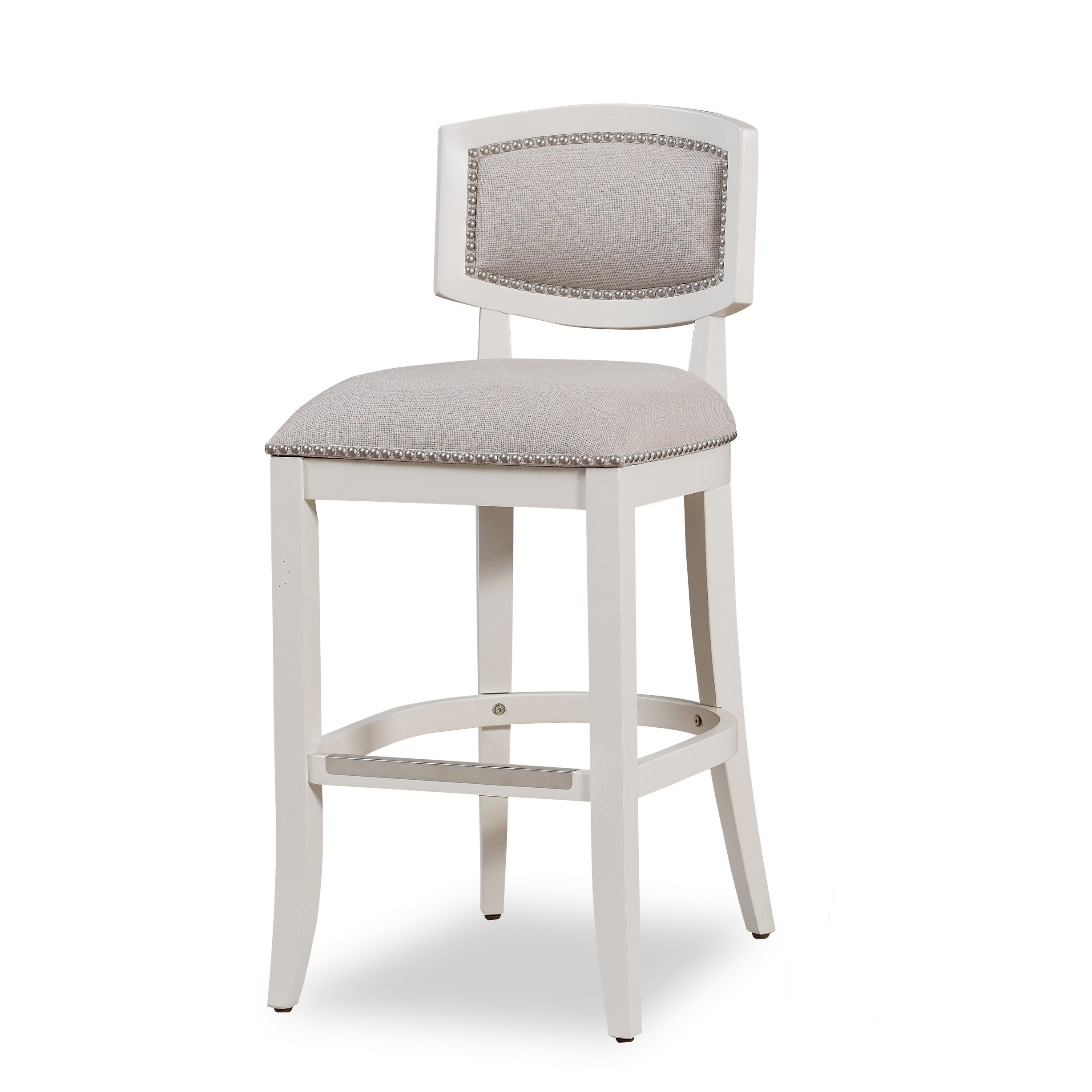 Aspen Antique White Counter Height Stool By Greyson Living