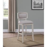 Shop Memphis 26 Inch Brown Birch And Fabric Counter Stool