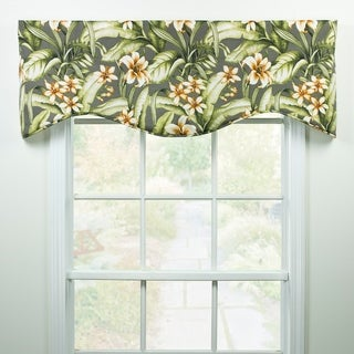 Kona tropical shaped valance