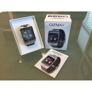 GIZMAX SMART WATCH Bluetooth Smart Watch with Camera Microphone SIM CARD SD Card