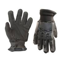 ALEKO Extra Large Paintball Airsoft Tactical Full Finger Gloves Black