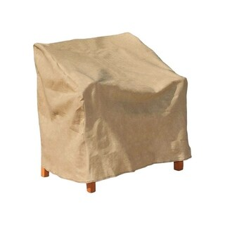 Budge 39 in. H x 37 in. W x 41 in. L Tan Polypropyleneá Outdoor Chair Cover