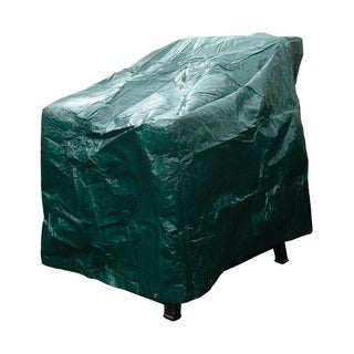 Budge 30 in. H x 36 in. W x 20 in. L Green Polyethyleneá High Back Chair Cover