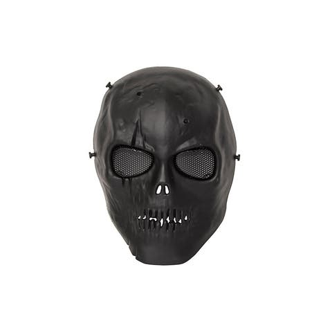 ALEKO Skull Skeleton Airsoft With Wire Mesh Goggles Paintball Mask