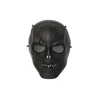ALEKO Skull Skeleton With Wire Mesh Goggles Paintball Safety Mask