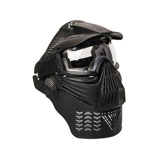 ALEKO Anti Fog Paintball Protective Mask with Double Elastic Strap