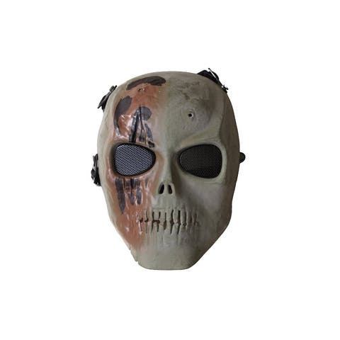 ALEKO Skull Skeleton Airsoft Wire Mesh Goggles Paintball Safety Mask
