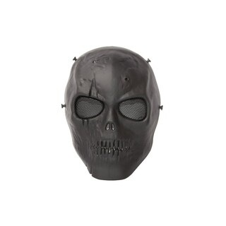 ALEKO Skull Skeleton Airsoft Mask With Wire Mesh Goggles Safety