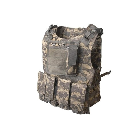 ALEKO Paintball Airsoft Chest Protector Tactical Vest Body Armor