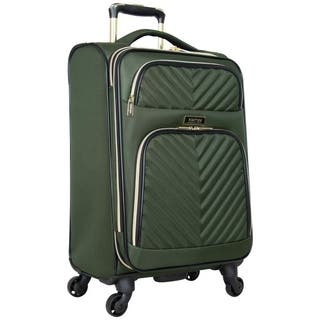 Kenneth Cole Reaction 'Chelsea' 20-Inch Lightweight Softside Quilted Chevron Expandable 4-Wheel Spinner Carry On Suitcase