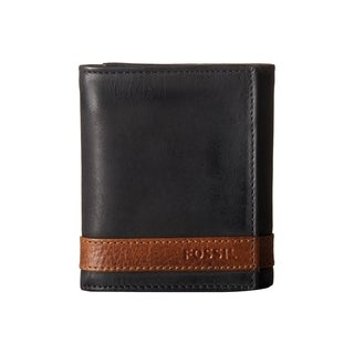 Fossil Quinn Trifold Wallet Black