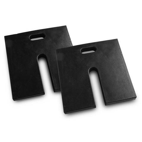 Rubber Weight Plates (2pk)