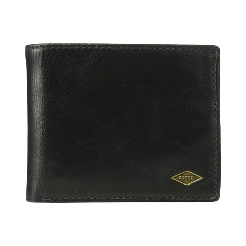Fossil Fyan Flip ID Bifold Wallet Black