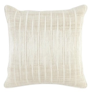 Kosas Home Mundu Embroidered 20-inch Throw Pillow