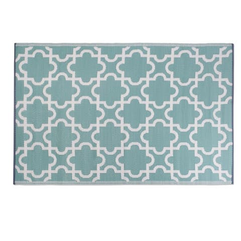 Design Imports Outdoor Rug - 4' x 6' - 4' x 6'