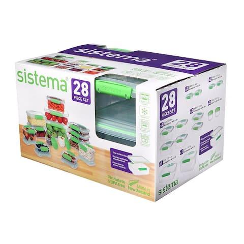 Sistema Fresh Green Set 28pc - Yes